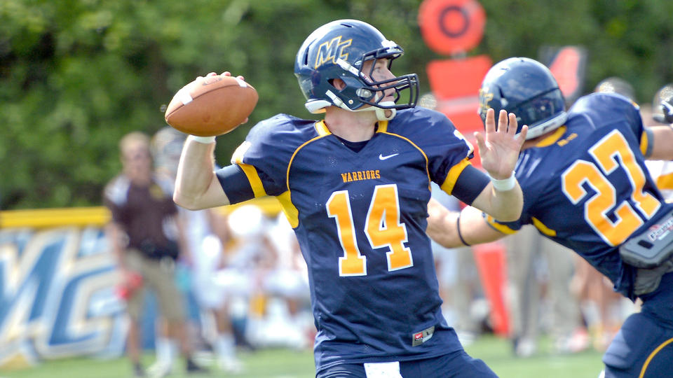 quarterback Joe Clancy, of Merrimack College.  courtesy photo