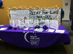Relay For Life's Kick-Off Event.