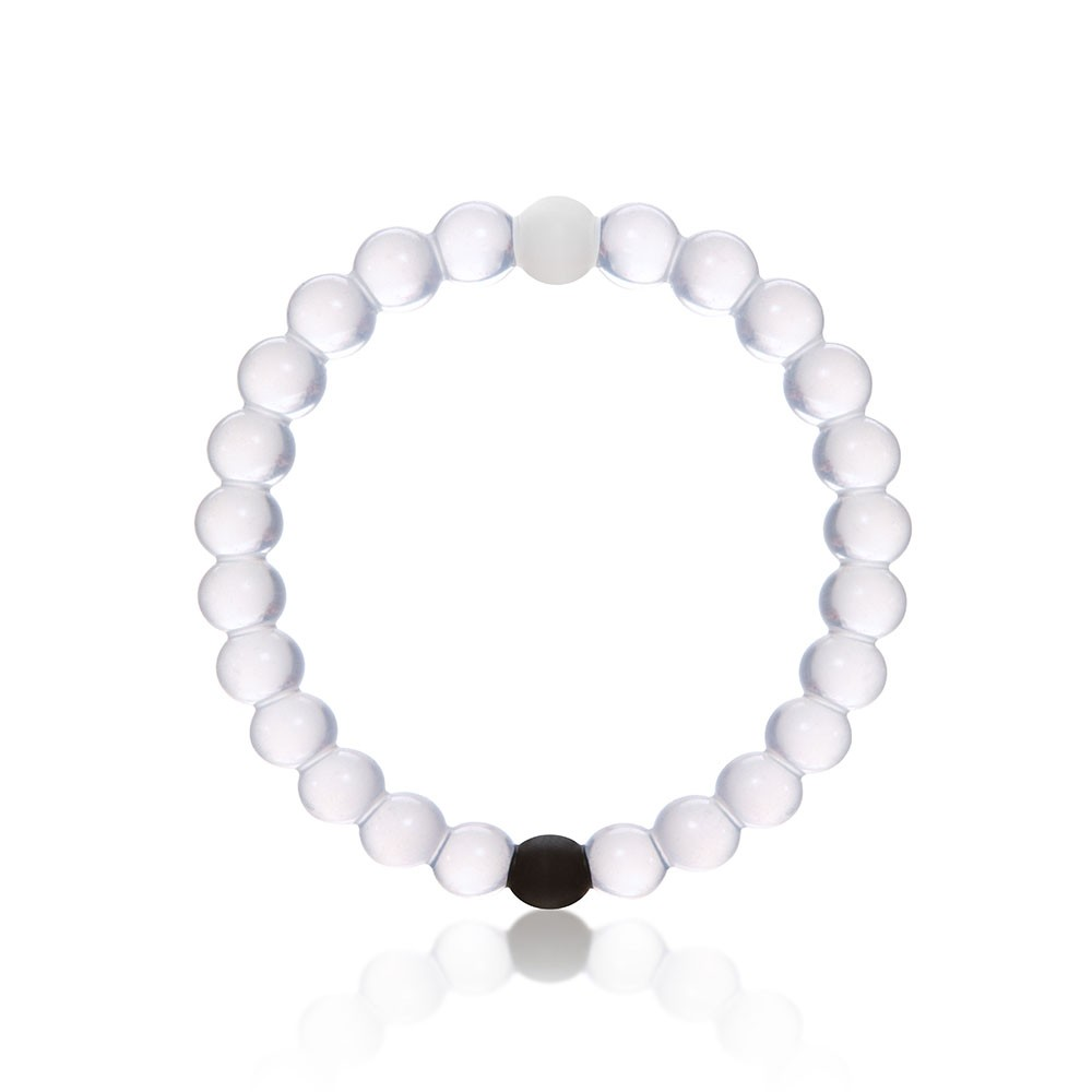 Have You Been Seeing Clear Rubber Bracelets Connected By One Black Ball And White Around Campus Feel Like Re Missing Out Because No