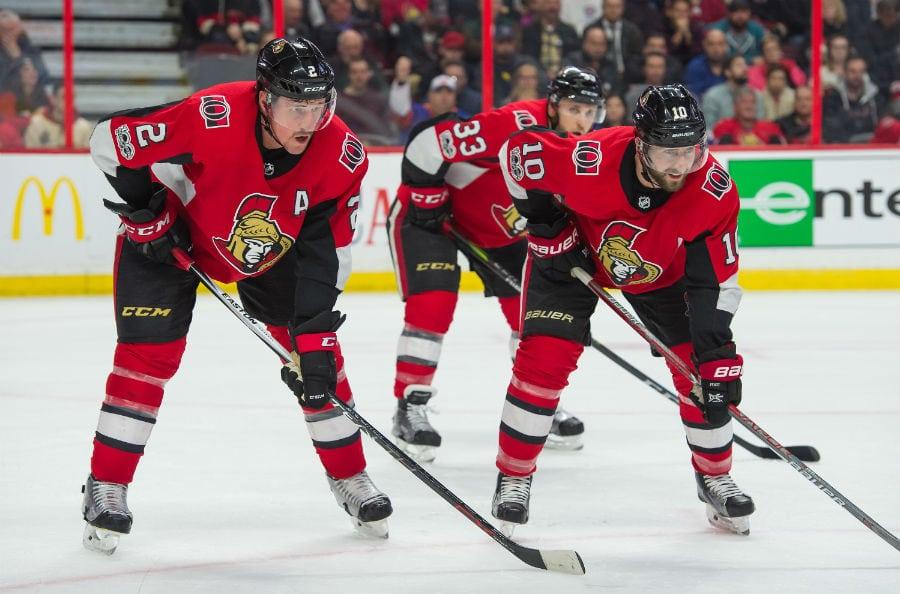 Chris Wideman Ottawa Senators Player Swingman Jersey